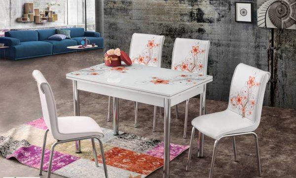 Set masa cu 4 scaune Atena